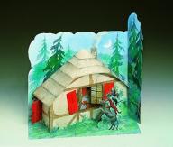 Model kartonowy do sklejenia Domek Die Bremer