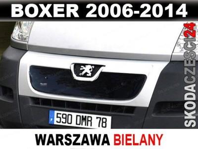 OSŁONA ZIMOWA ATRAPY CHŁODNICY BOXER 2006-2014 WWA
