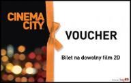 Bilet do Cinema City seans 2D cały tydzień z Wawą