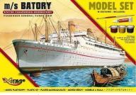 """Statek Pasażersko - drobnicowy m/s """"BATORY"""