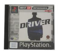 DRIVER PS1 PlayStation 1 PSX