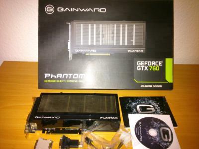 Gainward GTX 760 Phantom 2048Mb! 256 bit!
