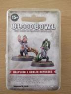 BLOOD BOWL FORGE WORLD GOBLIN HALFLING REFEREES