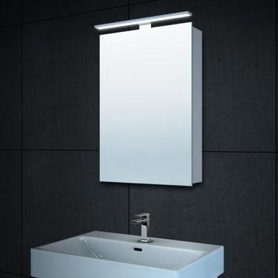 Lustro łazienkowe Szafka Led 40 X 60 Oświetlenie