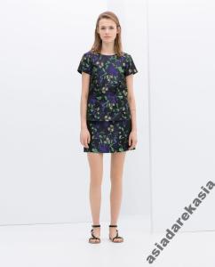 Nowy komplet ZARA wesele spódnica sukienka bluzka