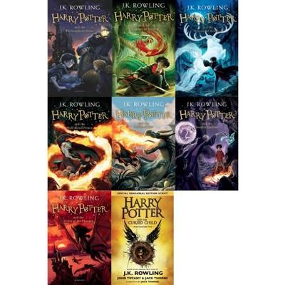 Harry Potter Wszystkie Czesci Angielski English 6633829970 Oficjalne Archiwum Allegro