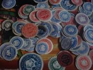 zalepka 19,20 wiek około 1000 sztuk stary znaczek