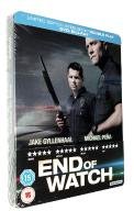 BOGOWIE ULICY / END OF WATCH STEELBOOK (BLU-RAY)