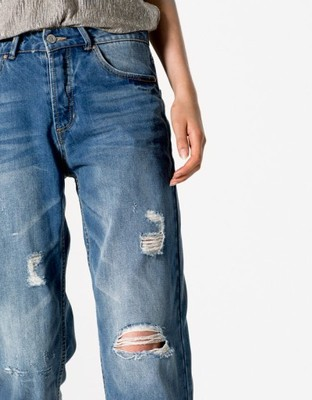 OKAZJA!! Spodnie,jeansy girlfriend PULL&B