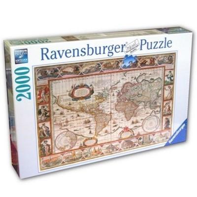 Ravensburger 2000 ELEMENTÓW Mapa Świata