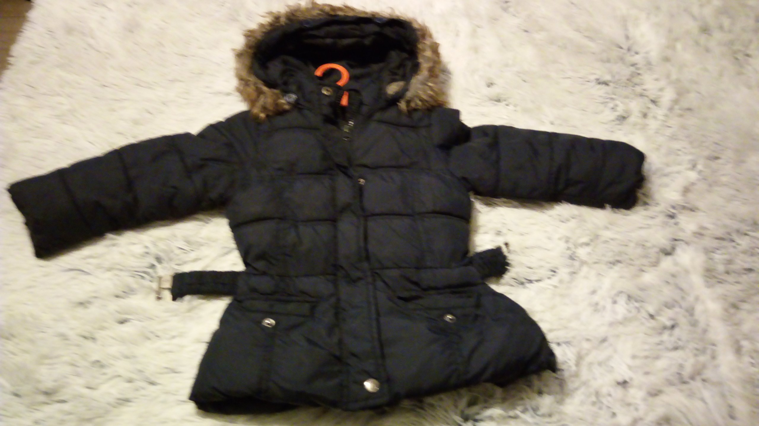 gruba zimowa kurtka 98
