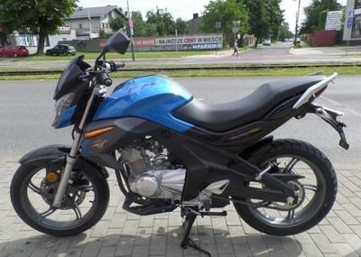 Junak Rs Pro 125 Na Prawo Jazdy B Dealer Lodz 6749395465 Oficjalne Archiwum Allegro