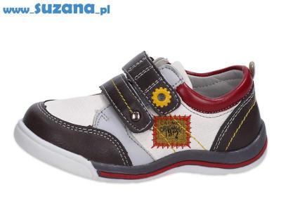 -30% Półbuty buty dziecięce BADOXX 6829 WT/GR r23