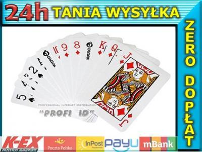 Mini Karty Do Gry Talia Kart Joker 54 Sztuki 5603613582