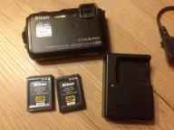 Nikon Coolpix AW110 oryginalna ładowarka 2 baterie