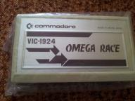 COMMODORE VIC - OMEGA RACE CARTRIDGE