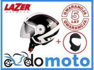 Kask motocyklowy LAZER BOLERO Racer S + kominiarka