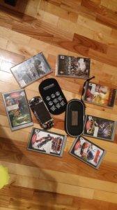 PSP zestaw