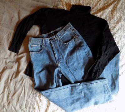 zestaw ubrań spodnie Calvin Klein bluzki 4 sztuki
