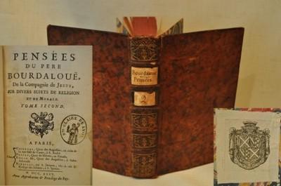 1735 EXLIBRIS / MIŁOŚĆ PYCHA OJCIEC BOURDALOUE T.3