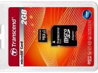 Karta Micro SecureDigital SD microSD 2GB + Adapter