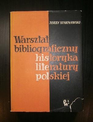 Warsztat bibliograficzny historyka literatury