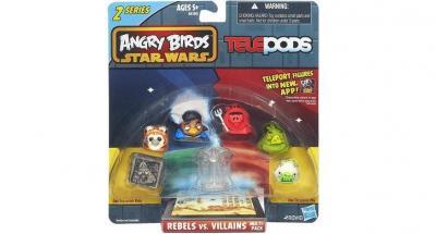 Angry Birds Star Wars Telepods Figurki Seria 2 4330419758 Oficjalne Archiwum Allegro
