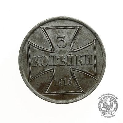 1793. POLSKA 3 KOPIEJKI 1916 A