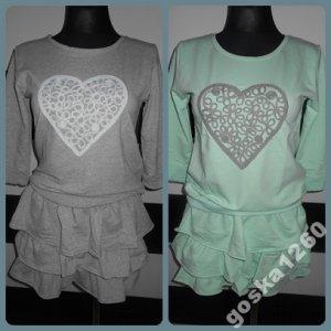 281ea80786b7bd Dresowy komplet bluza+spódnica, włoski, uni !!! - 6215530389 ...
