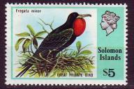 Solomon Is. 330**, 1976 r., Ptaki, 13E!