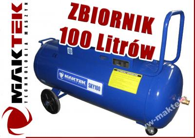 Butla Kompresora Zbiornik Powietrza 100l 10bar Udt 3228905150 Oficjalne Archiwum Allegro