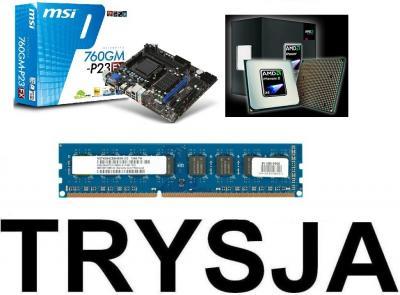 MSI 760GM-P23 PHENOM II X4 965BE 4x3,4GHz 4GBDDR3