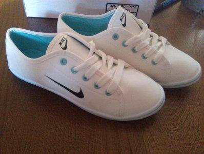 biale nike damskie buty tenisowki