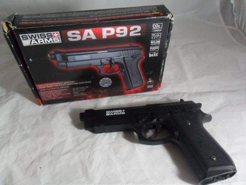 GAZÓWKA SWISS ARMS SA P92 POLECAM