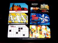nr F 4 - KARTY TELECOM ITALIA WŁOCHY 6 SZTUK
