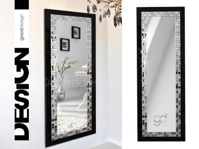 Lustro Dekoracyjne W Czarnej Ramie Glamour Gsq 5742892118
