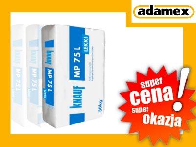 Tynk Maszynowy Lekki Gipsowy Knauf Mp 75 Blonie 6056965032