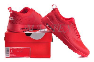 nike air max thea print czerwone
