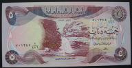 Irak - 5 dinarów - 1982 - stan bankowy UNC -