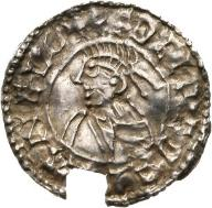 Aethelred II 978-1016, denar typu small cross,