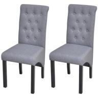 242222 vidaXL 2 krzesła do jadalni z wysokim oparc