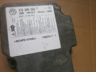 sensor airbag VW  1C0909605 5WK43131