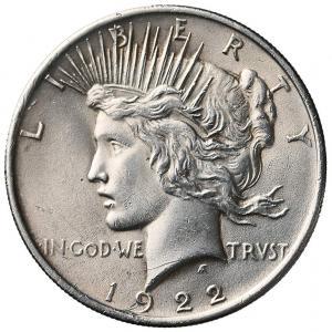 1164. USA 1 dolar 1922, st.~2