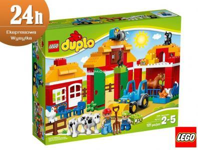 Klocki Lego Duplo Duża Farma 10525 4851141135 Oficjalne Archiwum