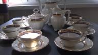 Zestaw kawowy Wałbrzych-porcelana