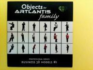 ARTLANTIS Objects - Business 3D models #1 CD Dysk
