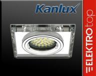 KANLUX MORTA CT-DSL50-SR Oprawa srebrna wkładka
