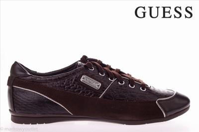 d2aff64eec374 Buty męskie brązowe GUESS r. 44 - 29 cm - 5354598278 - oficjalne ...