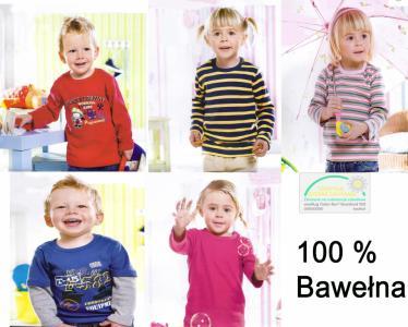 Bluzeczki dziecięce 100% bawełna WYPRZEDAŻ !
