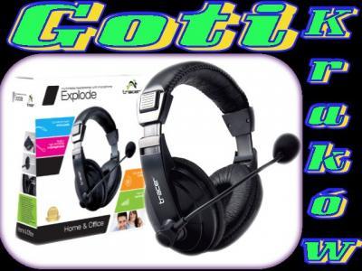 Słuchawki z mikrofonem TRACER EXPLODE XtraBASS KrK